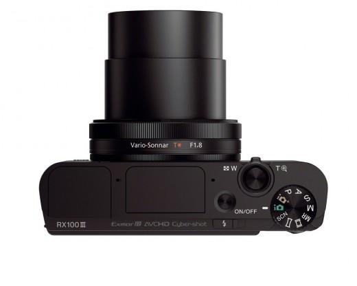 Sony DSC-RX100M III lens size