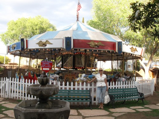 Authentic 1920s Allan Herschell Merry-Go-Round ($1 per person per ride)