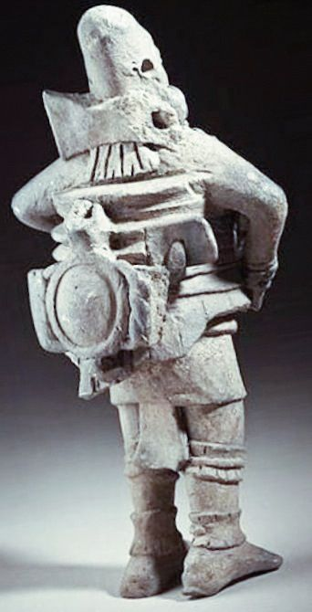 This ancient South American statuette is highly reminiscent of a person wearing a jetpack - Is this what it really shows or is the truth more mundane?