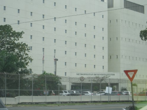 Federal prison facility in Guaynabo, Puerto Rico