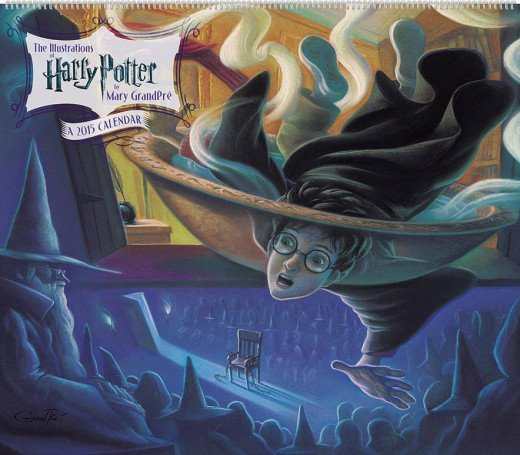 Harry Potter Poster Calendar: The Illustrations of Mary Grandpre