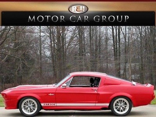 1967 Shelby GT500 Eleanor Built by Classic Recreations