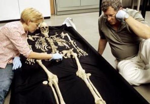 Bones of Kennewick Man