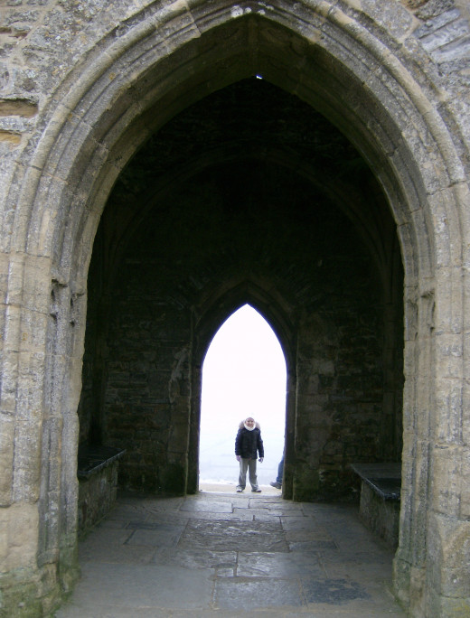 Inside the Tower on the Tor