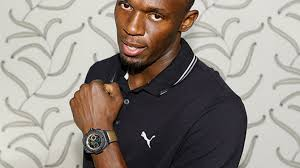 """Usain """"Lightning"""" Bolt has a Hublot watch made in his honor"""
