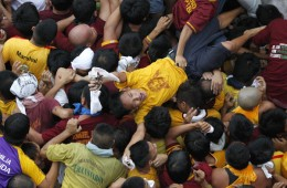 Police estimated two million devotees participated in the 2011 Black Nazarene