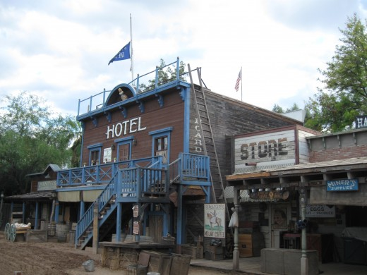 Hotel in Trail Dust Town
