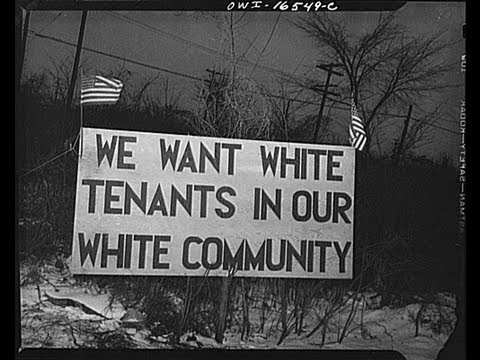 White tenants only