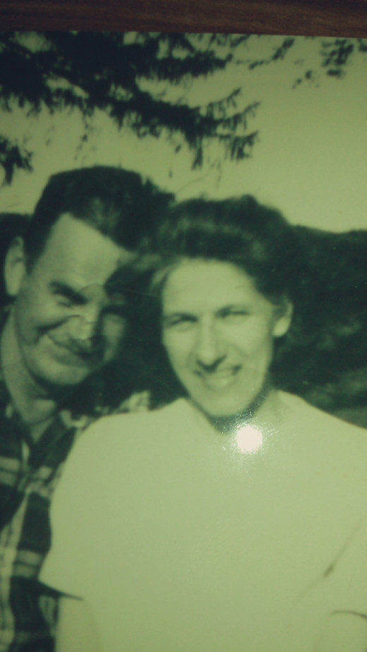 Picture of mom and dad taken in the 1960s.