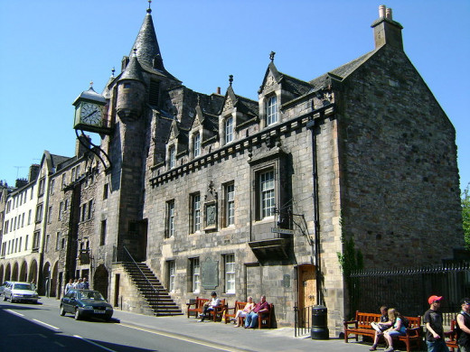 The old Tolbooth, Canongate, Edinburgh
