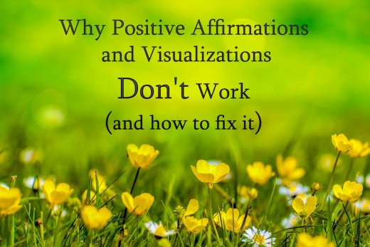 Why positive affirmations and vision boards fail people.