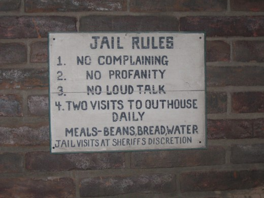 Rules for prisoners