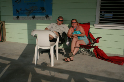 My man and I in Belize - 2011