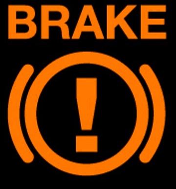 ABS dashboard warning light