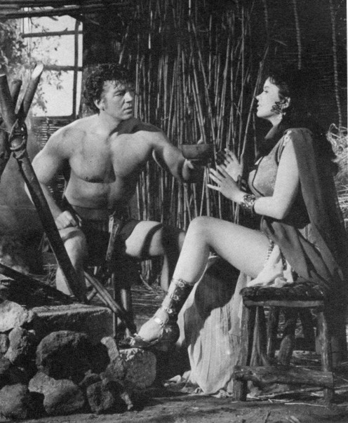 The Loves of Hercules (also known as Hercules Vs the Hydra)   Jayne with Mickey