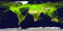 Hub-and-Spoke and Point-to-Point Flight Networks