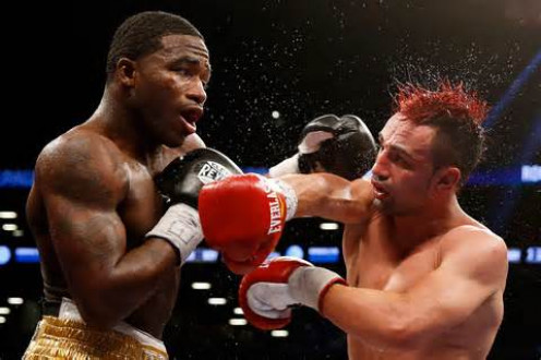 Adrien Broner beat Paulie Malignaggi for the welterweight title in his 147 pound debut.