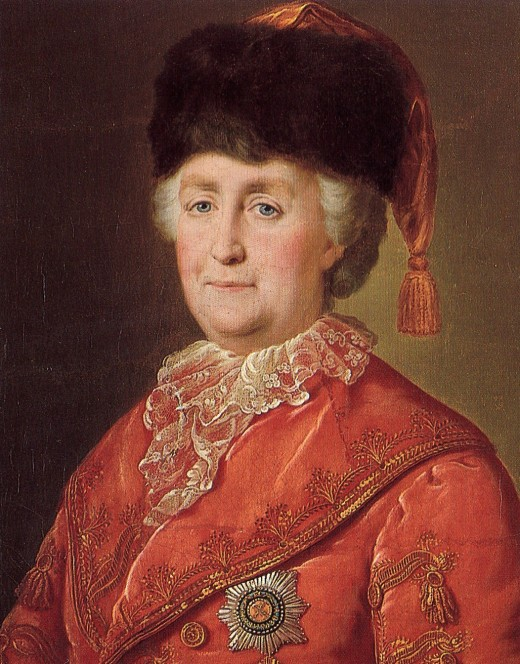 The Empress of Russia in her later years.