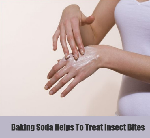 Baking Soda Helps To Treat Insect Bites