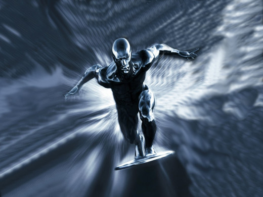 Silver Surfer.