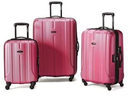 Samsonite Luggage Fiero HS 3 Piece Nested Set