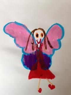 Fairy by Noah Duncan Fraser aged 4
