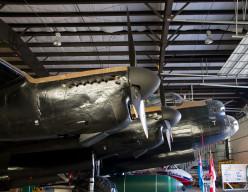 Avro Lancaster B X FM159, the Nanton, Alberta, Bomber Command Museum of Canada.