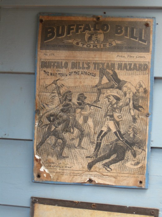 Cover of a ten cent magazine about Buffalo Bill's exploits