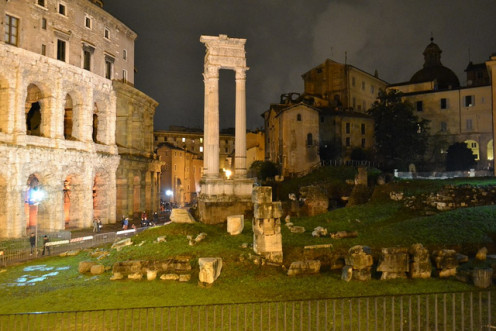 Rome: A magical place to explore day or night.