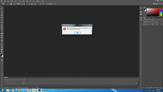 Photoshop cannot directly import HTML so if your template is only in that, you have a problem.