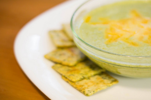 broccoli soup (Photo: Nancy Rose)