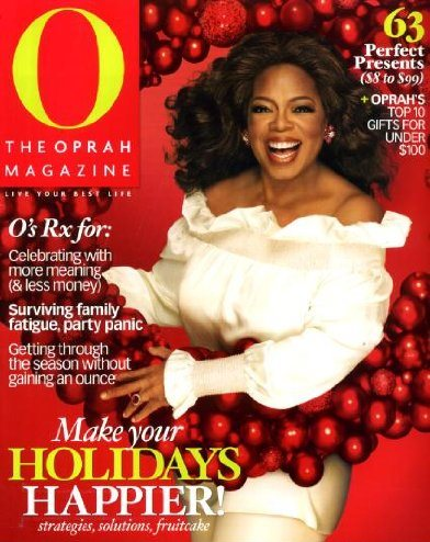 O the Oprah Magazine December 2008