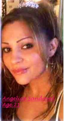 The Alamosa Police Department is investigating the disappearance of 21-year old Angelica Sandoval, of  Alamosa, Colorado. On 2/23/2011 at approximately 2348 hours, officers from the Alamosa Police Department  responded to 715 13th Street in reference