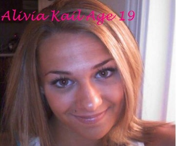 """Alivia Kail, 19, of Mount Washington, PA.,has been missing since March 04, 2011 and the last person with her, a boyfriend, has been uncooperative with investigators, police said. She goes by the nickname """"Liv."""" Liv was reported missing by her family"""