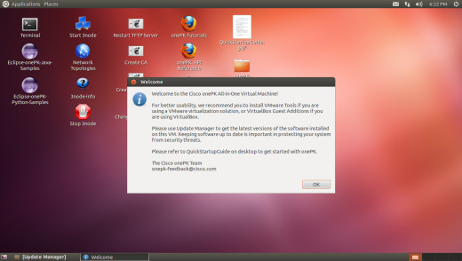 Accept the End Users License Agreement (EULA)
