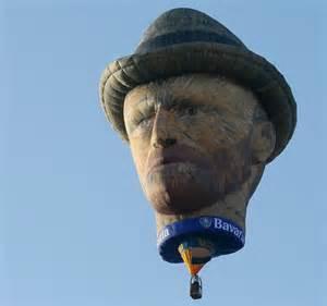 Flying Van Gogh  Photo Source:www.telegraph.co.uk)