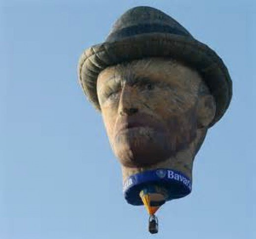 Flying Van Gogh  Photo Source:www.telegraph.co.uk)