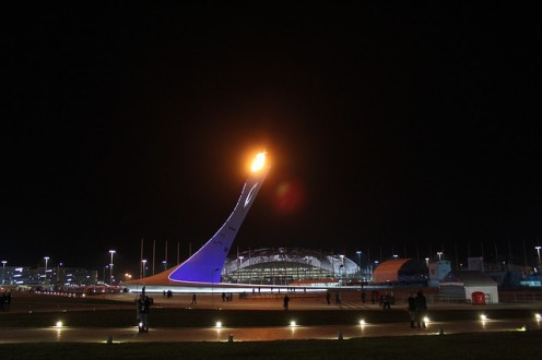 Sochi Olympic/Paralympics Torch