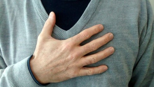 Heartburn is one of the most common symptoms. © Scott Bateman