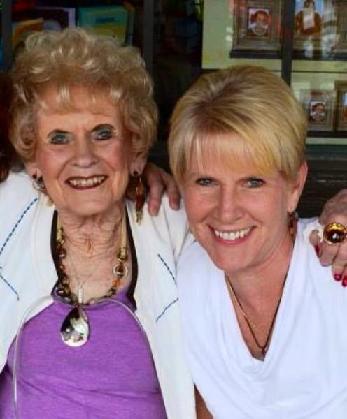 Pat and her daughter Sophia (Debbie)