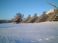 Ziggurat buildings, University of East Anglia, Norwich