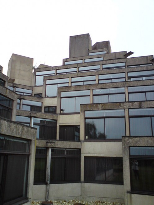 B-block, Norfolk Terrace, University of East Anglia