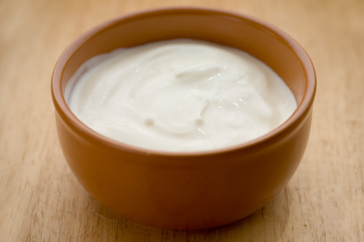 Yoghurt is one of the best for your skin