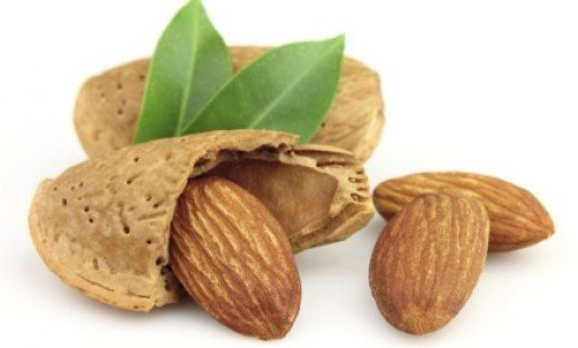 Almonds can act as a natural exfoliator