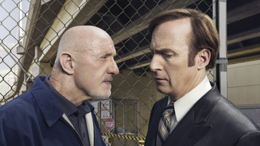 The inevitable Mike and Saul face-off