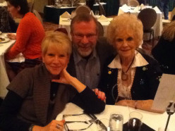 Sophia, Me and Mom at The Grove Park Inn in Asheville, NC