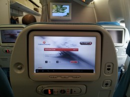 B777-300ER Planet, their entertainment system is available from the moment you board the aircraft until you are ready to deplane.