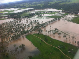 Flooding, Nanango area.