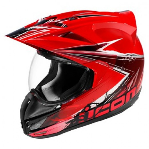 Dual sport helmets are great for off road riding but not very comfortable on high speeds