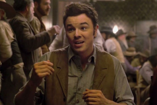 Seth MacFarlane (A Million Ways to Die In the West)